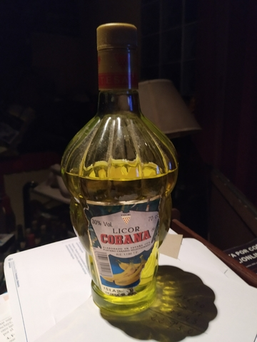 Licor Cobana (Plátano De Cánarias Detesa