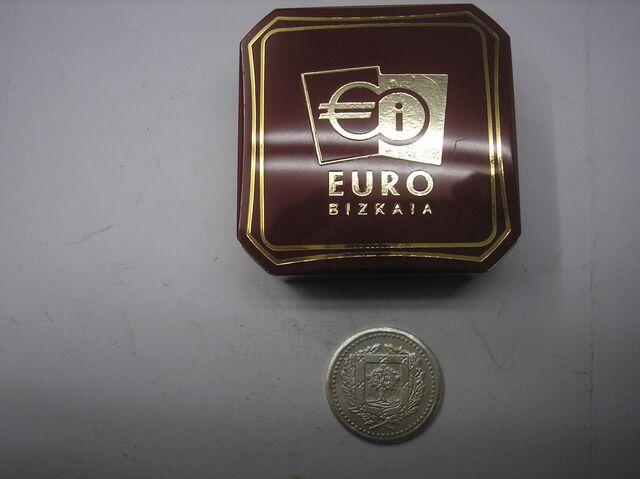 Medalla  De Plata Con Valor De 1 Euro