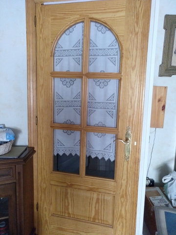 3 Puertas De Madera De Pino