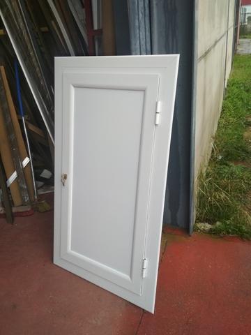 Puerta De Aluminio Ciega
