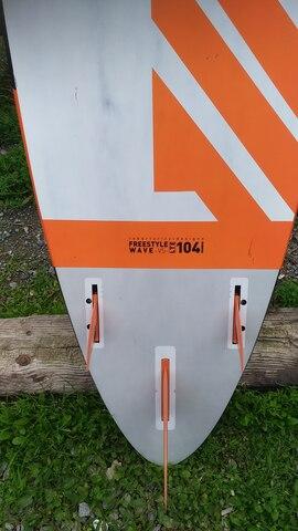 TABLA  WINDSURF FREEWAVE RRD 104 LTE V5 - foto 3