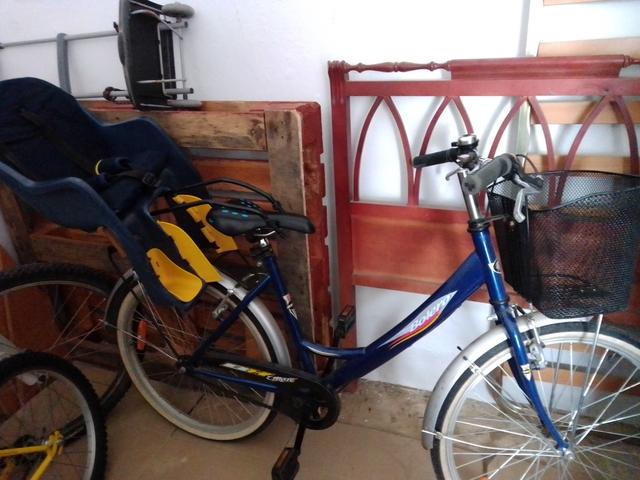 Bici De Paseo Con Silla De Bebé