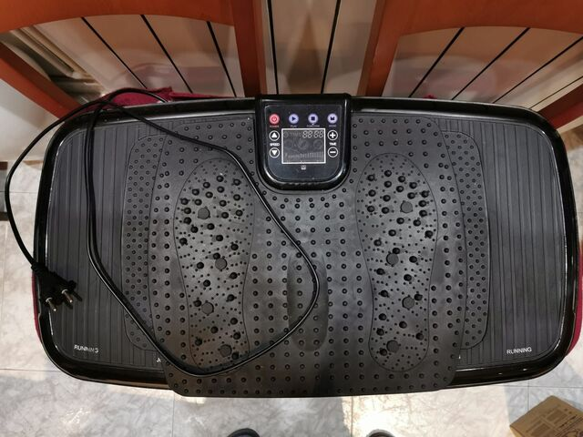 Plataforma Vibratoria Oscilante 3D
