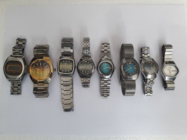 Lote Relojes Orient