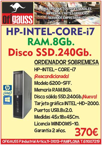 HP-INTEL-CORE-I7 - foto 1