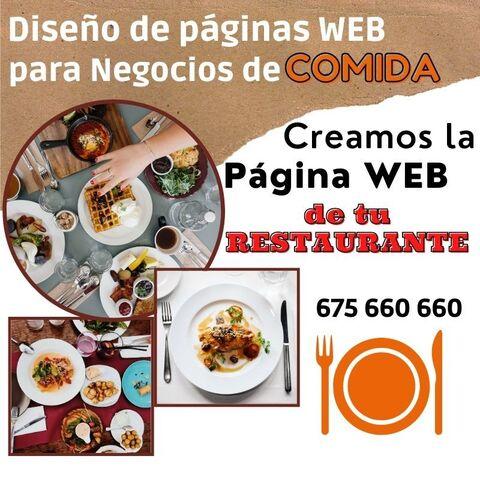 CREACIÓN DE PÁGINA WEB PARA RESTAURANTE - foto 1