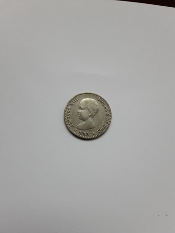España. Monedas Antiguas  50 Cént 1892