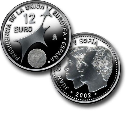 Compro Monedas 12 Euros.