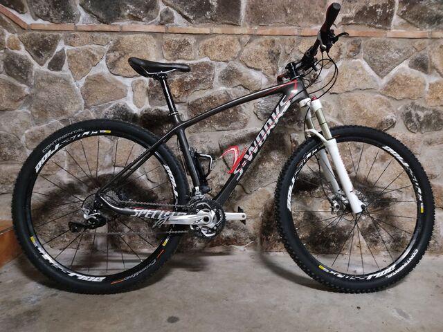 Bicicleta De Montaña Rígida De Carbono