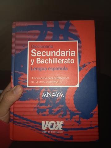 DICCIONARIO SECUNDARIA Y BACHILLERATO - foto 1