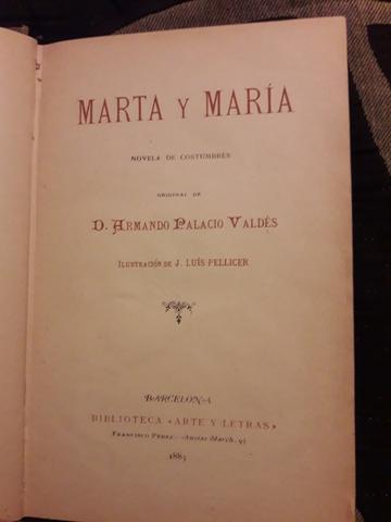 MARTA Y MARIA DE ARMANDO PALACIO VALDES - foto 3