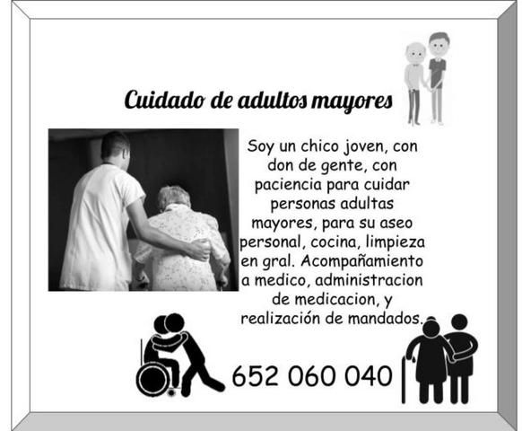 CUIDADO DE ADULTOS MAYORES - foto 1