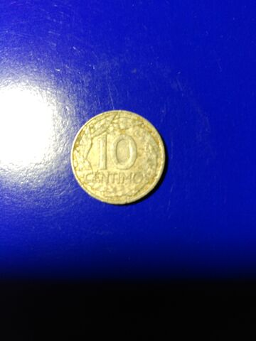 Moneda De 10 Centimos,Año 1959