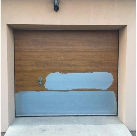 Puerta De Garaje Seccional Sin Motor