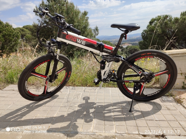 Bicicleta Eléctrica Plegable Engwe
