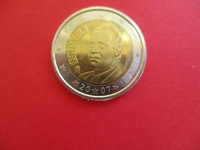 Moneda 2007 España De 2 Euros