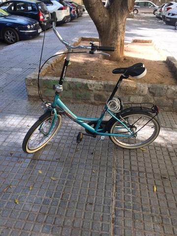 BICICLETA SEMI PLEGABLE - foto 7