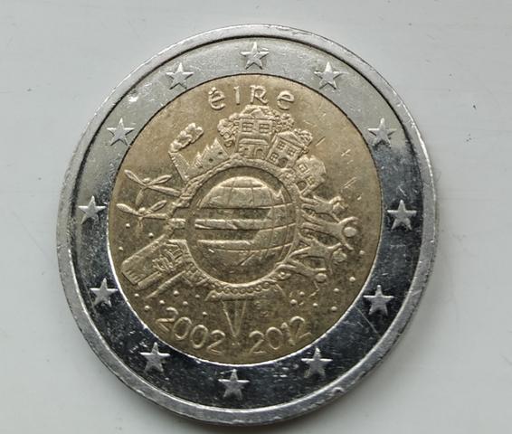 Moneda De 2 Euros Conmemorativa Irlanda