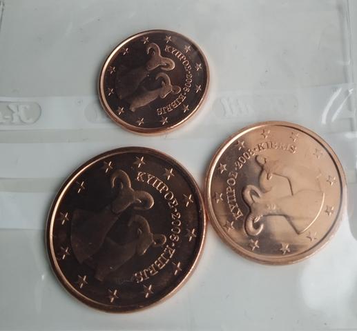 Monedas De Céntimos De Euro Chipre