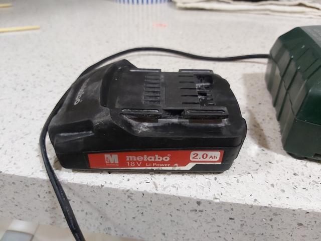 Baterias Metabo Cargador