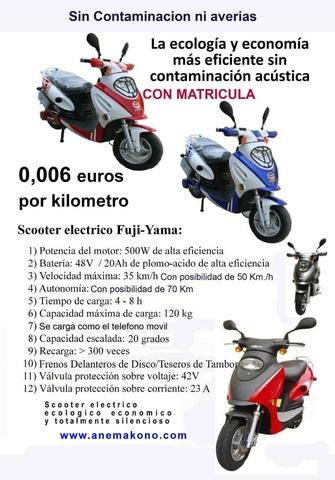 MOTOS ELÉCTRICAS 500CC - foto 1