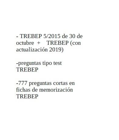 TREBEP,  LIBROS PDF DE MARTINA - foto 2