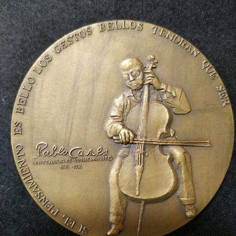 Moneda Conmemorativa Pablo Casals