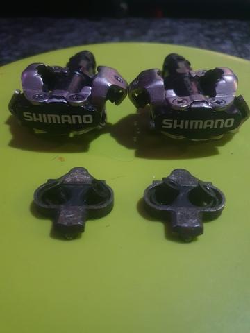 Pedales Shimano Automáticos