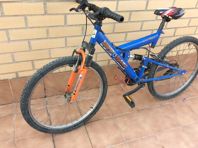 Bici De Montaña Mountain Bike 24 Pulgada