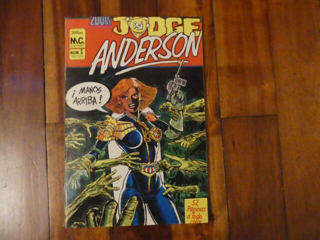 CÓMIC JUDGE ANDERSON NÚMERO 5 DE 1987 - foto 1