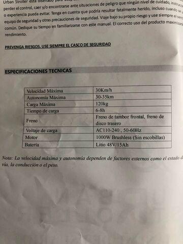 PATINETE ELÉCTRICO MOVILIDAD REDUCIDA - foto 4