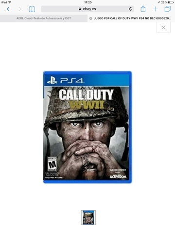 CALL OF DUTY WWII - foto 1