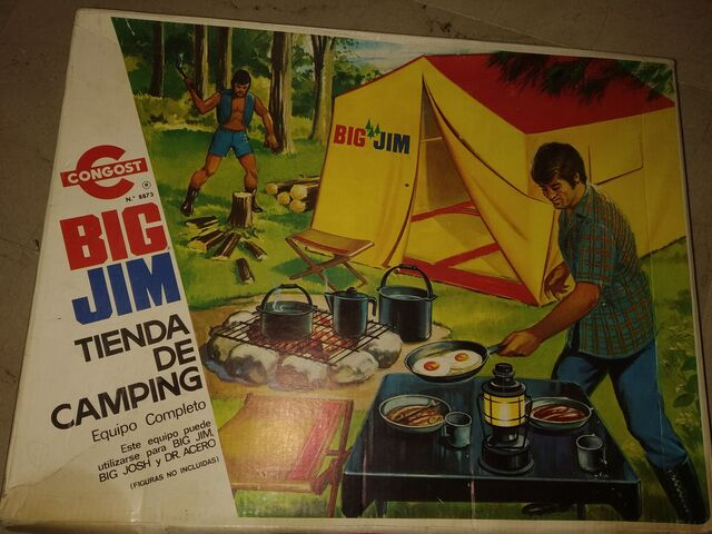 JUEGO AÑOS 70-80 CAMPING BIG JIM - foto 1