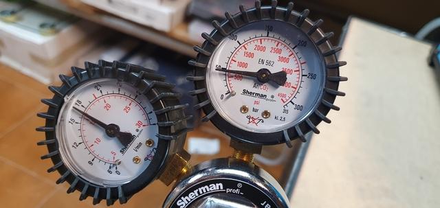 Manometro Manoreductor Gas Argon