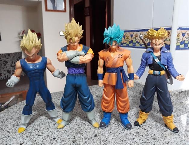 Vendo Lote De 4 Figuras De Dragon Ball