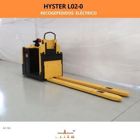 RECOGEPEDIDOS HYSTER ELÉCTRICO 2. 000KG - foto 2