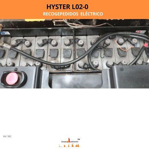 RECOGEPEDIDOS HYSTER ELÉCTRICO 2. 000KG - foto 6