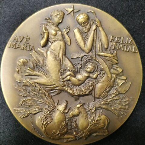 Medalla Alusiva A La Navidad