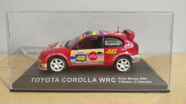 Toyota Corolla Wrc - V. Rossi - 2004