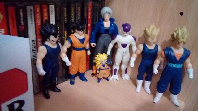 Lote Figuras 7 Dragon Ball Z Bandai