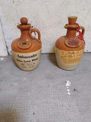 Botellas Whisky Vacias