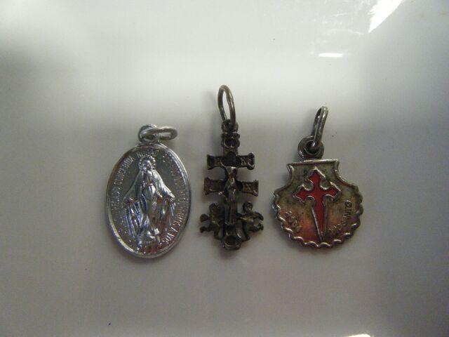 3 Medallas Miniatura