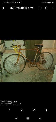 Bicicleta Zeus Años 70