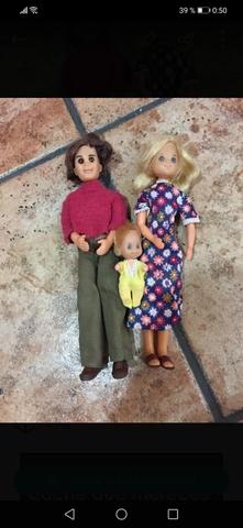 Muñecos Familia Feliz