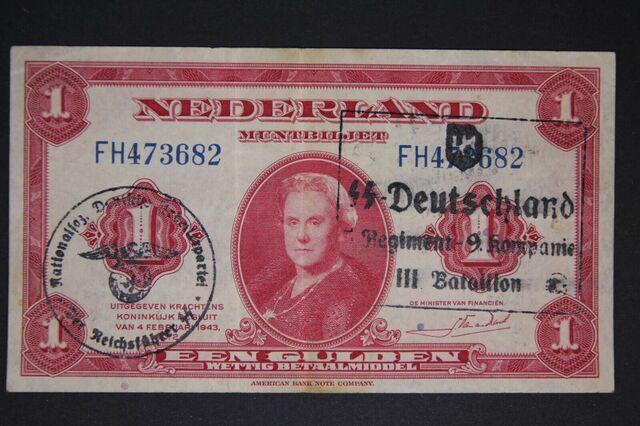 Billete Holandes 1943