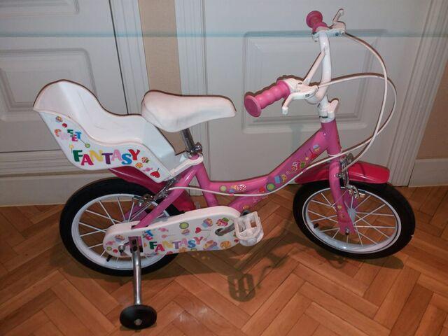 Bicicleta Niña 14 Pulgadas