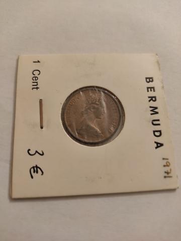 1 Centimo Bermuda 1971
