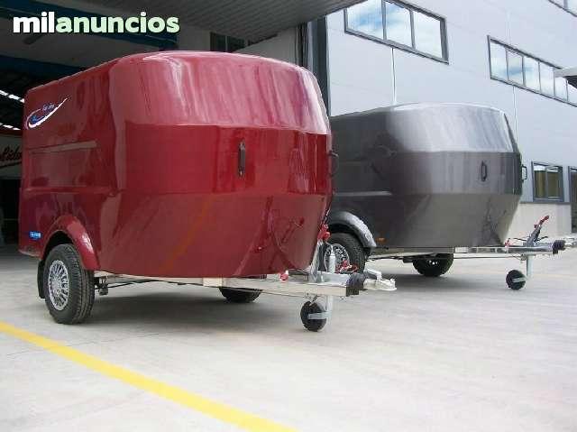 REMOLQUE FIBRA CERRADO MOTOS QUADS - foto 1