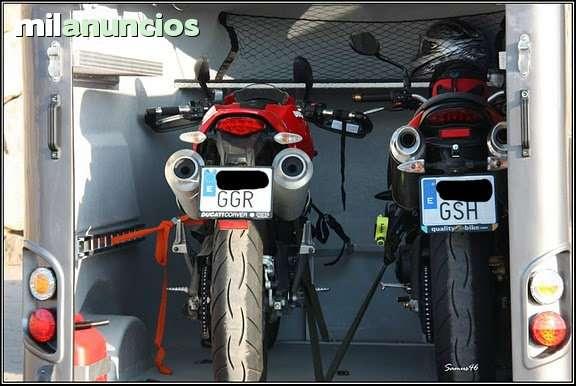 REMOLQUE FIBRA CERRADO MOTOS QUADS - foto 4
