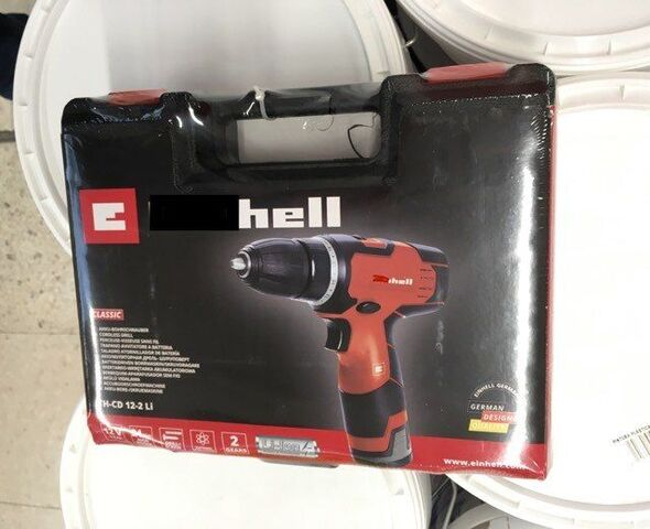 Taladro Destornillador Bateria Nueva